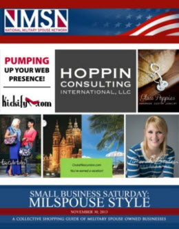 Small Business Saturday Military Spouse Owned Businesses